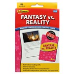 Fantasy Vs Reality Reading Comprehension Cards Yellow Level By Edupress
