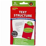 Text Structure Practice Cards, Green Level By Edupress
