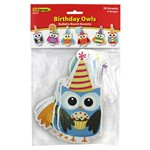 Birthday Owls Accents By Edupress