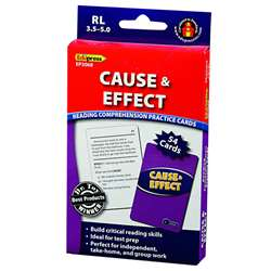 Cause And Effect - 3.5-5.0 By Edupress