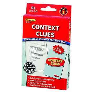 Context Clues - 2.0-3.5 By Edupress