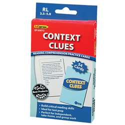 Context Clues - 3.5-5.0 By Edupress