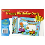 Happy Birthday Owls Bookmark Award By Edupress