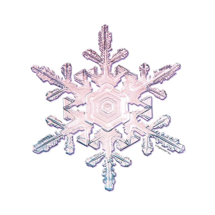 Snowflakes Bulletin Board Accent By Edupress