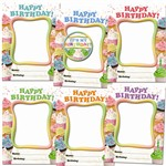 Happy Birthday Cupcakes Frames Accents By Edupress