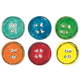 Pete The Cat Groovy Buttons Accents 36 Pk, EP-3236