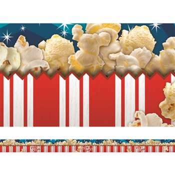 Popcorn Layered Border By Edupress