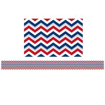 Patriotic Chevron Spotlight Border, EP-3274