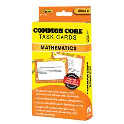 Shop Common Core Math Task Cards Gr 2 - Ep-3345 By Edupress