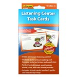 Listening Center Task Cards Gr 2 And Up By Edupress