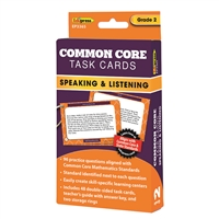 Common Core Task Cards Speaking & Listening Gr 2, EP-3365