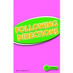 Following Directions Practice Cards Reading Level 5.0-6.5 By Edupress