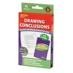 Drawing Conclusions Cards Reading Levels 5.0-6.5 By Edupress