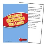 Reading Between The Lines Practice Cards Reading Level 2.0-3.5 By Edupress