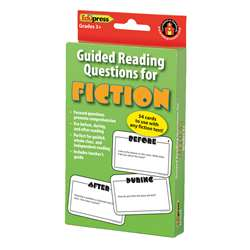 Guided Reading Question Cards Fiction By Edupress