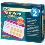 Math Test Prep In A Flash Gr 2 By Edupress