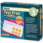 Math Test Prep In A Flash Gr 3 By Edupress