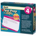 Math Test Prep In A Flash Gr 4 By Edupress
