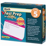 Math Test Prep In A Flash Gr 5 By Edupress
