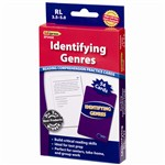Identifying Genres Reading 3.5-5 Comprehension Cards Blue Level By Edupress