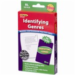 Identifying Genres Reading 5.0-6.5 Comprehension Cards Green Level By Edupress