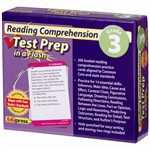 Reading Comprehension Gr 3 Test Prep In A Flash By Edupress