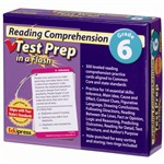 Reading Comprehension Gr 6 Test Prep In A Flash By Edupress