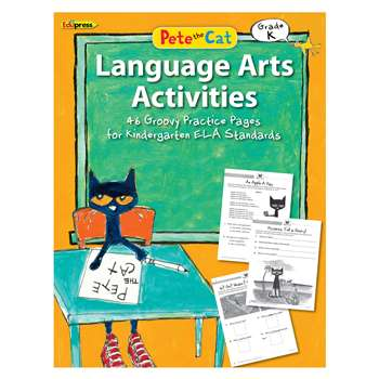 Pete The Cat Language Arts Workbook Gr K, EP-3513