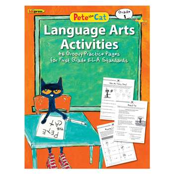 Pete The Cat Language Arts Workbook Gr 1, EP-3515