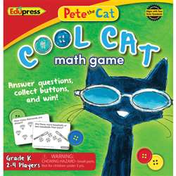Pete The Cat Cool Cat Math Game G-K, EP-3530