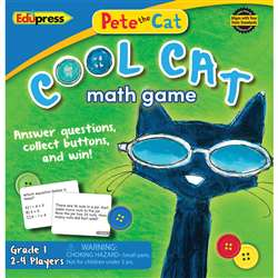 Pete The Cat Cool Cat Math Game G-1, EP-3531