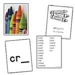 Initial Consonant Blends Skill Cards By Edupress