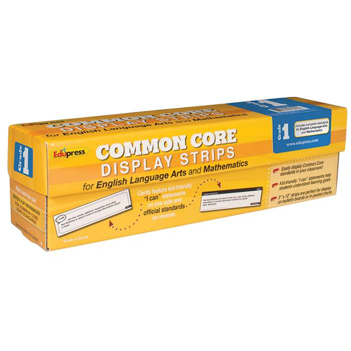 Common Core State Standards Display Strips Gr 1 By Edupress