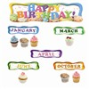 Happy B-Day Cupcakes Mini Bulletin Board Set By Edupress