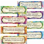 Character Quotes Mini Bulletin Board Set By Edupress