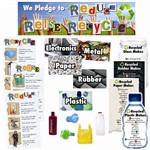 Reduce Reuse Recycle Mini Bulletin Board Set By Edupress