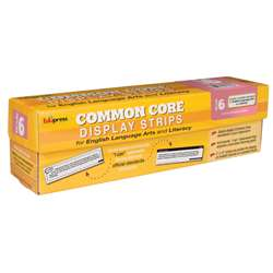 Gr 6 Common Core Display Strips Ela And Literacy, EP-3650