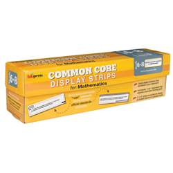 Gr 6-8 Common Core Display Math Strips, EP-3653