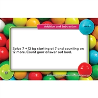 Math Tasty Task Cards Addition Subtraction, EP-3654