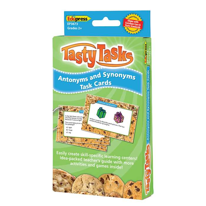 Antonyms And Synonyms Language Arts Tasty Task Car, EP-3673
