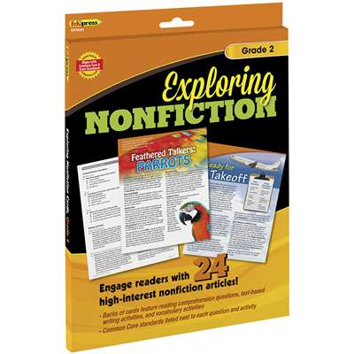 Exploring Nonfiction Cards Gr 2, EP-3681