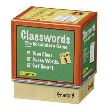 Classwords Vocabulary Gr 3 By Edupress