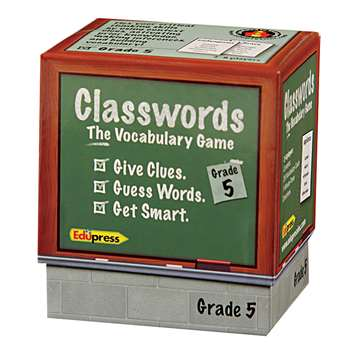Classwords Vocabulary Gr 5 By Edupress