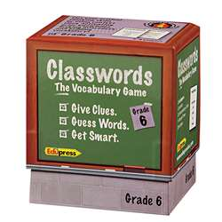 Classwords Vocabulary Gr 6 By Edupress