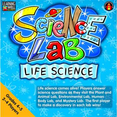 Science Lab Game: Life Science Gr 4-5 By Edupress