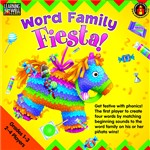 Word Family Fiesta 2-3 Letter Word Families, EP-LRN272