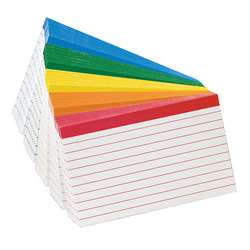 Oxford Color-Coded Index Cards 3X5 By Esselte