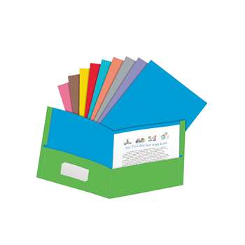 Oxford Twisted Twin Pocket Folders Assorted By Esselte