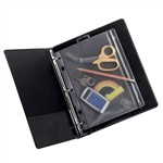 Oxford Zipper Mesh Binder Pockets 10 1/2 X 8 By Esselte