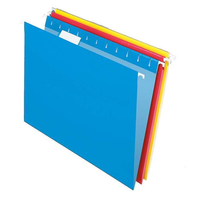 Pendaflex 25Ct Essentials Hanging File Folders Assorted 1/5 Tab By Esselte
